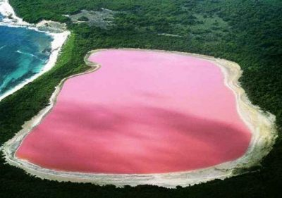 Hillier - Розовое озеро в Австралии